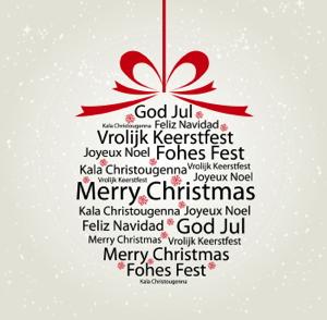 God Jul på olika språk