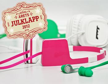 Årets julklapp 2012 - hörlurar
