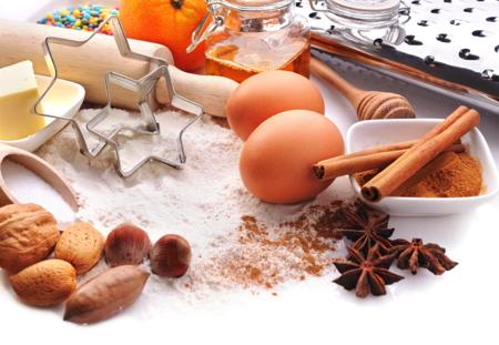 Ingredienser till julbak