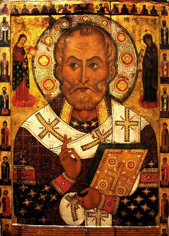 Sankt Nikolaus av Myra (jultomtens förebild)