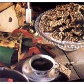 Chokladrutor med nötter
