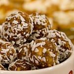 Fruktbollar med kokos