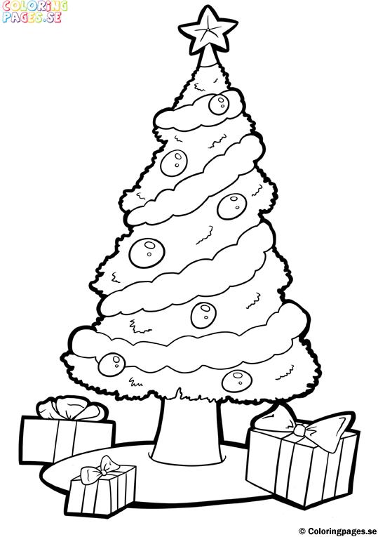 roliga jul målarbilder