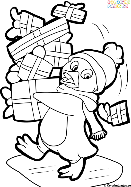 giant christmas coloring pages - photo#45