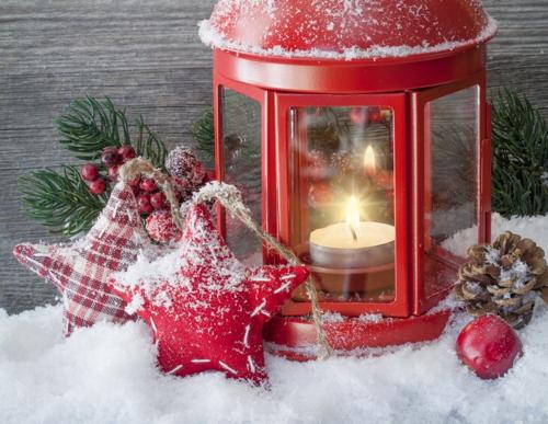 Julens röda färg