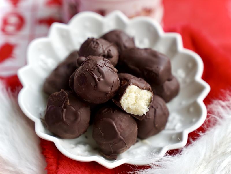 Bountybollar (kokos- & chokladkulor)