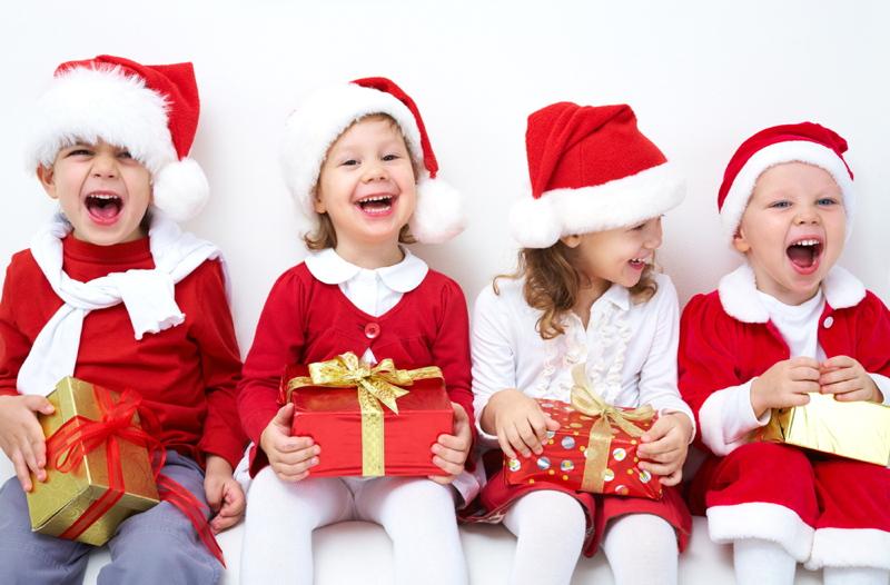 Jullekar för barnen